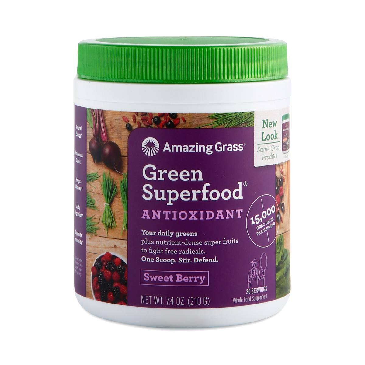Acai Berry Orac Green Superfood Powder Thrive Market