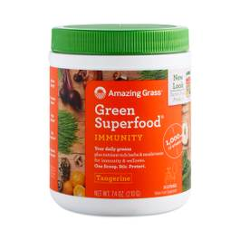 Tangerine Immunity Green Superfood Powder