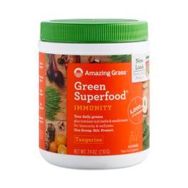 Tangerine Immunity Green Superfood Powder