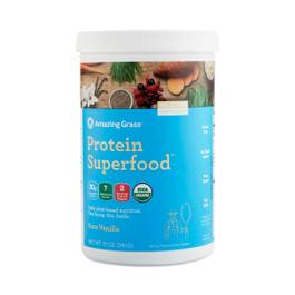 Superfood Protein Powder, Pure Vanilla