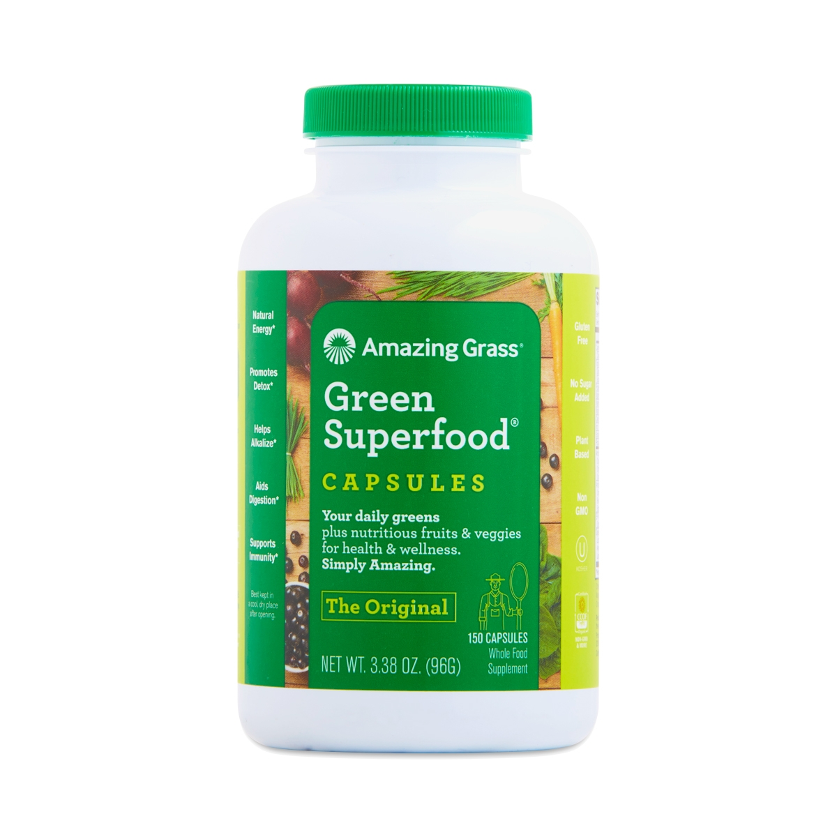 Green Superfood Capsules