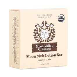 Coconut Lemon Moon Melt Lotion Bar