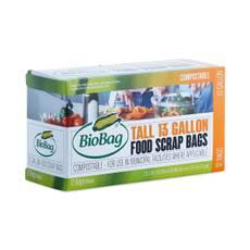 Tall Kitchen Trash Bags, 13 Gallon