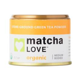 Organic Stone Ground Green Tea Powder