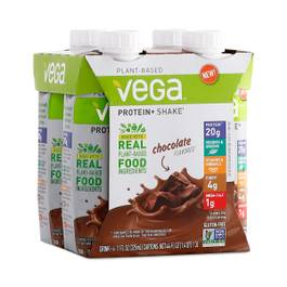 Vega Protein+ Ready to Drink Shake, Chocolate