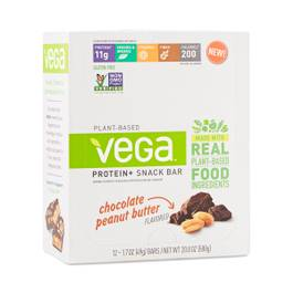 Vega Protein + Snack Bar, Chocolate Peanut Butter