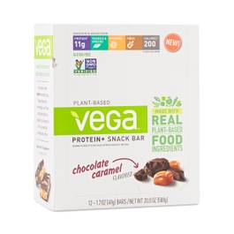 Vega Protein+ Snack Bar, Chocolate Caramel
