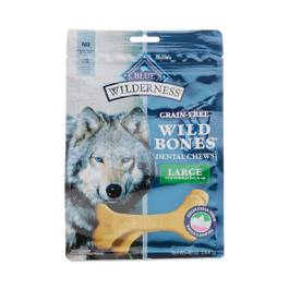 Wilderness Wild Bones Large Dental Chews Grain-Free Dog Treats