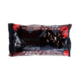 Organic 100% Cacao Unsweetened Dark Chocolate Chips