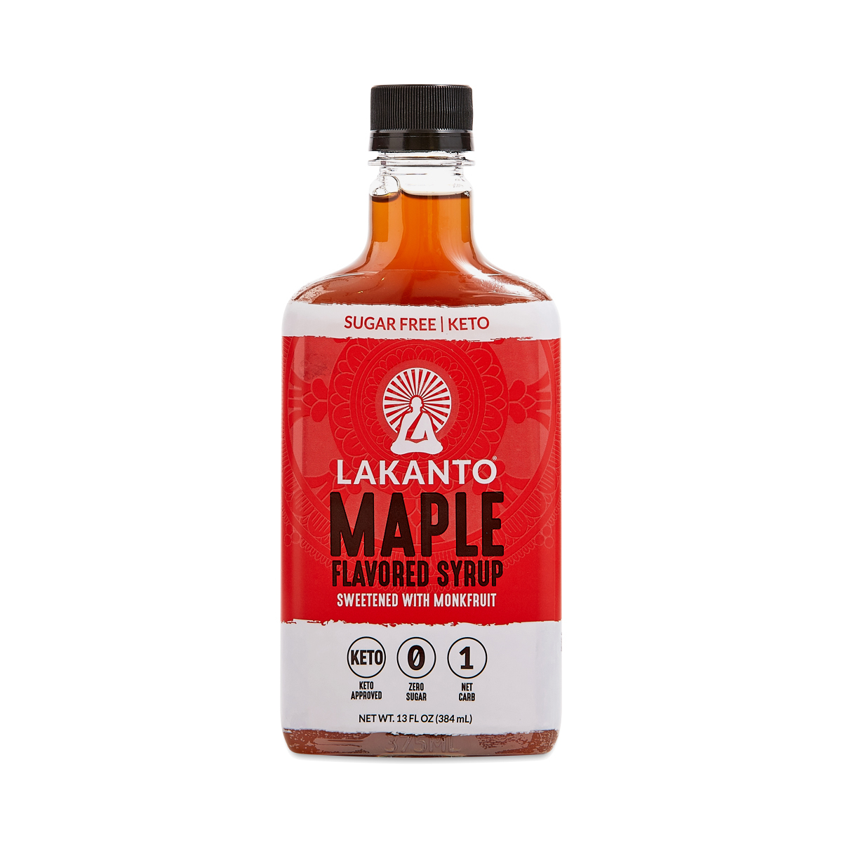 Lakanto Maple Flavored Sugar Free Monkfruit Syrup Thrive Market