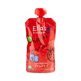 Apple & Strawberry Baby Food Pouch