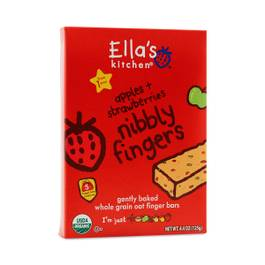 Nibbly Fingers Apples & Strawberries