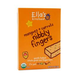 Nibbly Fingers Mangoes & Carrots