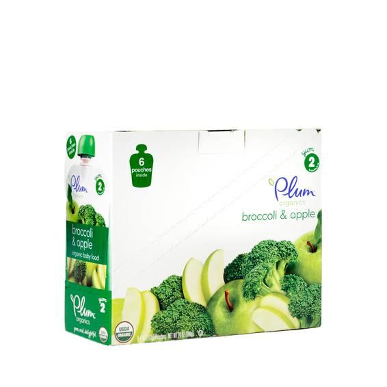 Broccoli & Apple Baby Food Stage 2