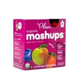 Organic Fruit Mashups, Mixed Berry