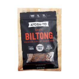 Spicy Beef Biltong