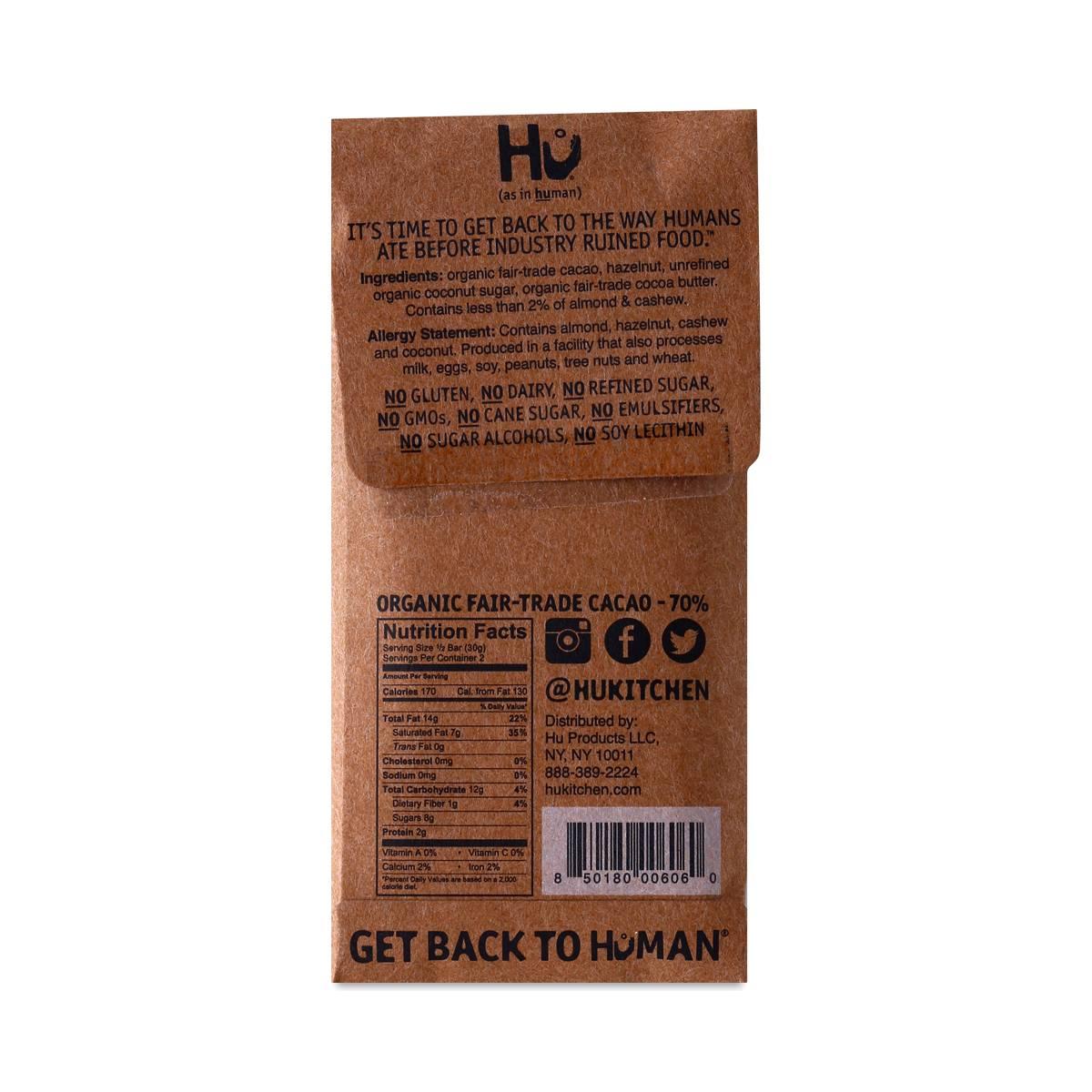 hazelnut praline chocolate barhu kitchen - thrive market