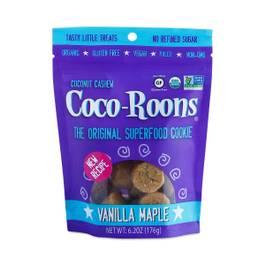 Organic Vanilla Maple Coco-Roons