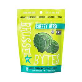 Cheesy Herb Brussel Bytes
