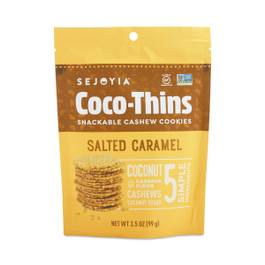 Coco-Thins Cashew Cookies, Salted Caramel