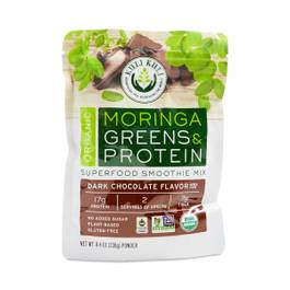 Moringa Greens & Protein, Dark Chocolate