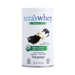 Organic Bourbon Vanilla Whey Protein