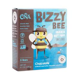 Bizzy Bee Chocolate Grain & Nut Free Snack Bars