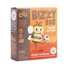 Bizzy Bee Simply Sunflower Grain & Nut Free Snack Bar