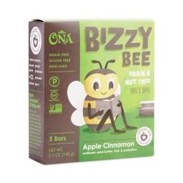 Bizzy Bee Apple Cinnamon Grain & Nut Free Snack Bar