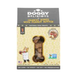 Peanut Butter Bones Natural Dog Treats
