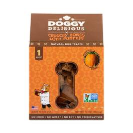 Pumpkin Bones Natural Dog Treats