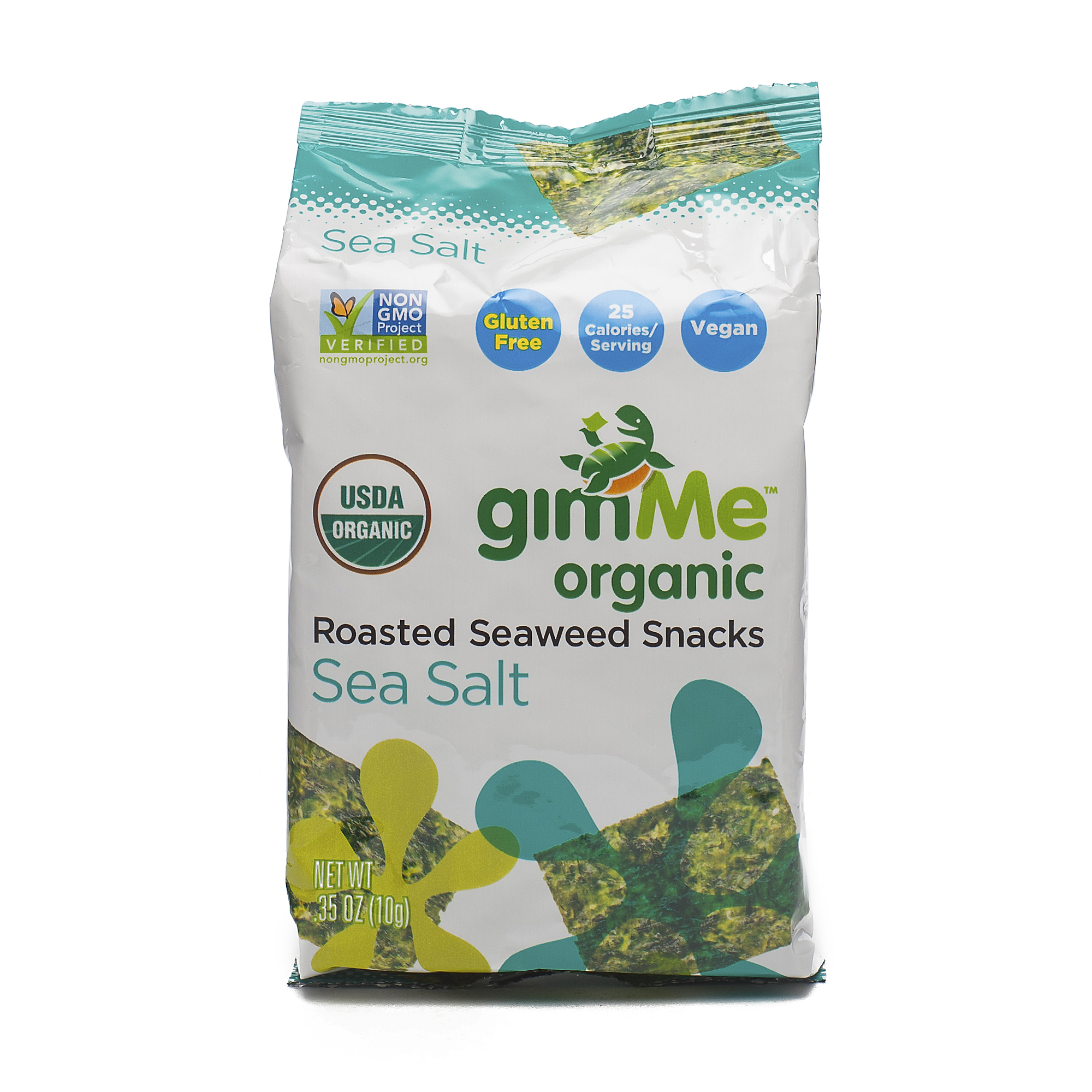 Organic Roasted Seaweed Snack By Gimme Thrive Market