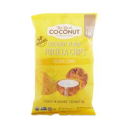 Golden Curry Coconut Flour Tortilla Chips