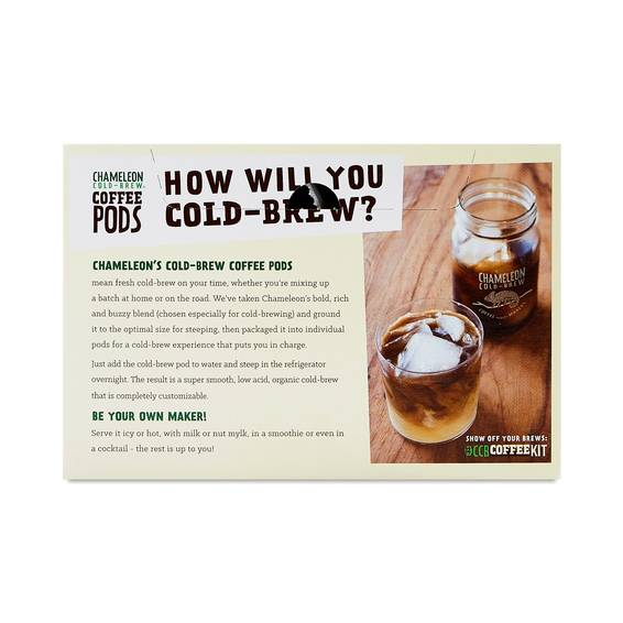 Chameleon Cold-Brew Cold Brew Coffee Pods - Thrive Market