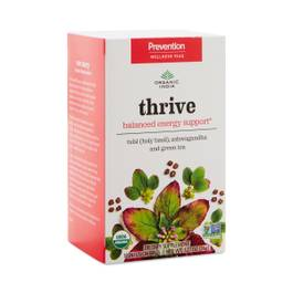 Energy Support & Wellness Tea - Tulsi, Peppermint & Probiotics