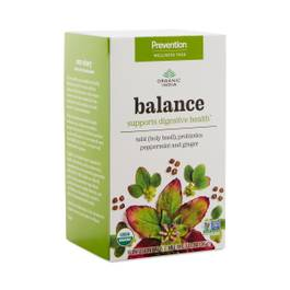 Balance & Wellness Tea - Tulsi, Probiotics & Digestive Herbs