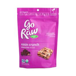 Organic Sprouted Bites, Raisin Crunch