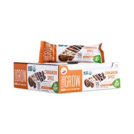 Organic Sprouted Grow Plant Protein Bar, Cinnamon Spice