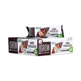 Organic Sprouted Grow Plant Protein Bar, Dark Chocolate