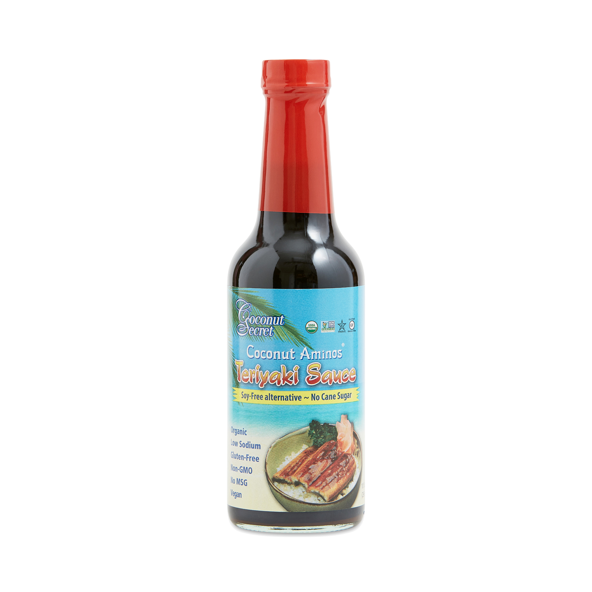 Coconut Secret Coconut Aminos Teriyaki Sauce 10 oz bottle