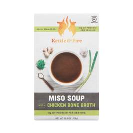 Miso Soup with Chicken Bone Broth