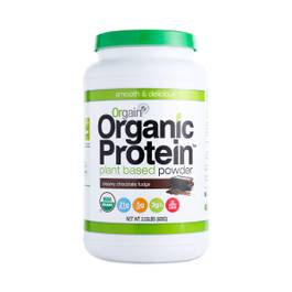 Organic Protein Powder, Chocolate Fudge