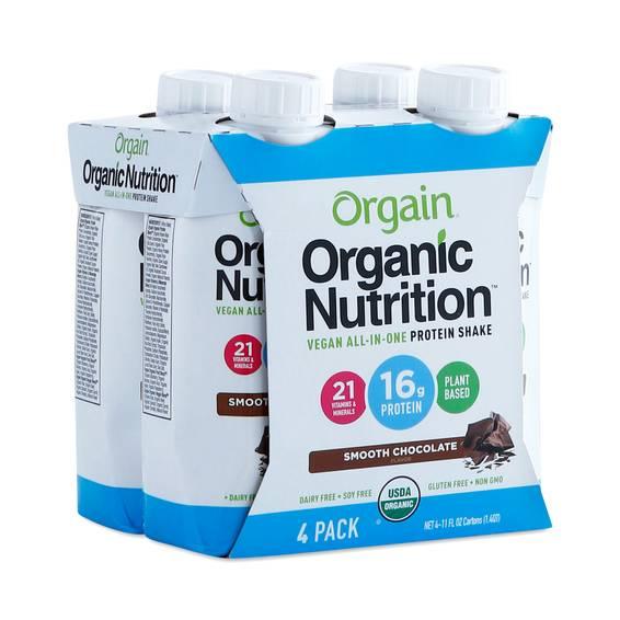 Organic Vegan Protein Shake, Chocolate by Orgain - Thrive ...