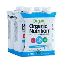 Organic Vegan Protein Shake, Vanilla