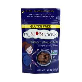 Soft Granola Bites, Blueberry Banana Acai