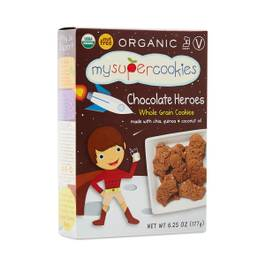 Organic Chocolate Whole Grain Cookies