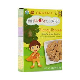 Organic Honey Whole Grain Cookies