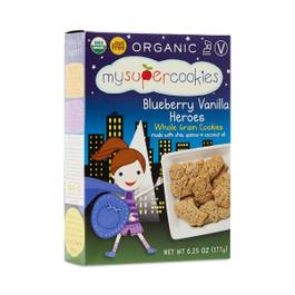 Organic Blueberry Vanilla Whole Grain Cookies
