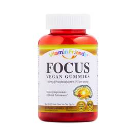 Just Focus with Sharp PS Vegan Gummies