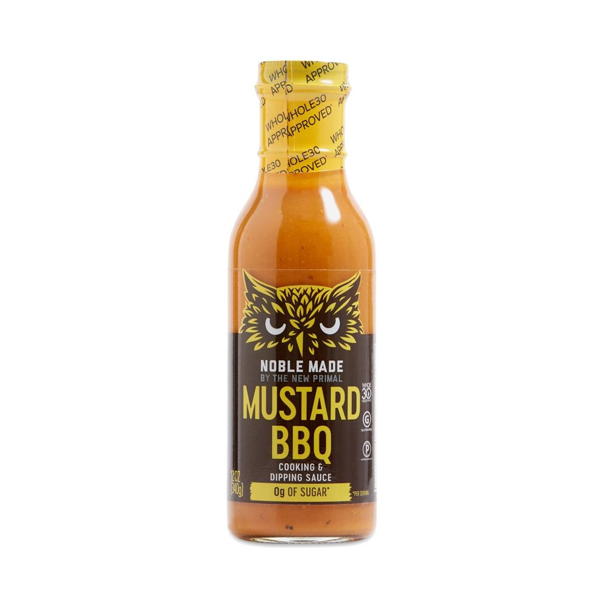 The New Primal Noble Made Mustard BBQ Sauce - Thrive Market